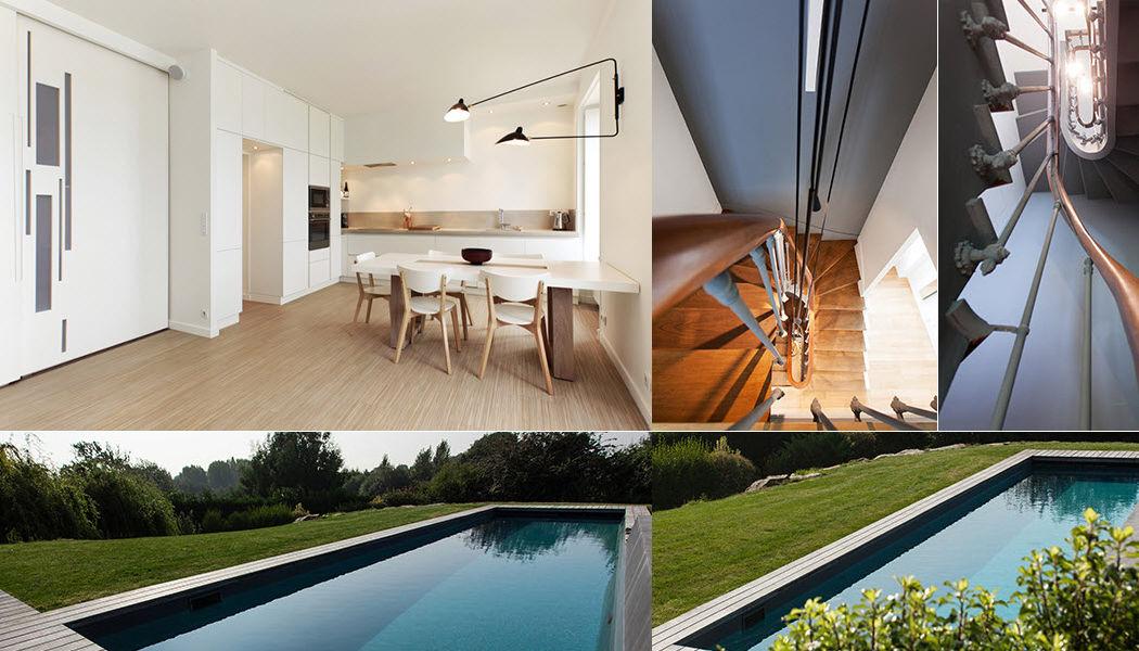 Alkmdesign Réalisation d'architecte d'intérieur Réalisations d'architecte d'intérieur Maisons individuelles   