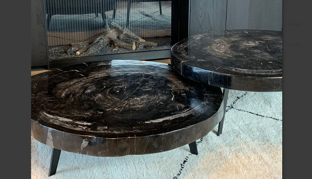 DEFLEURE Table basse ronde Tables basses Tables & divers  |