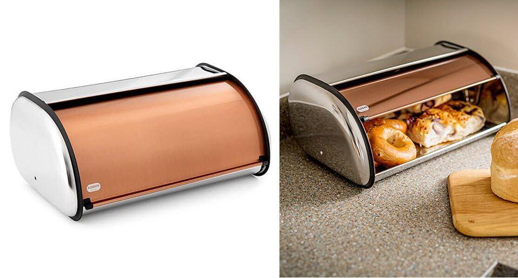 ADDIS Huche à pain Boites-pots-bocaux Cuisine Accessoires   