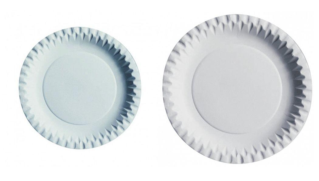 First FFC Assiette en carton Assiettes Vaisselle  |