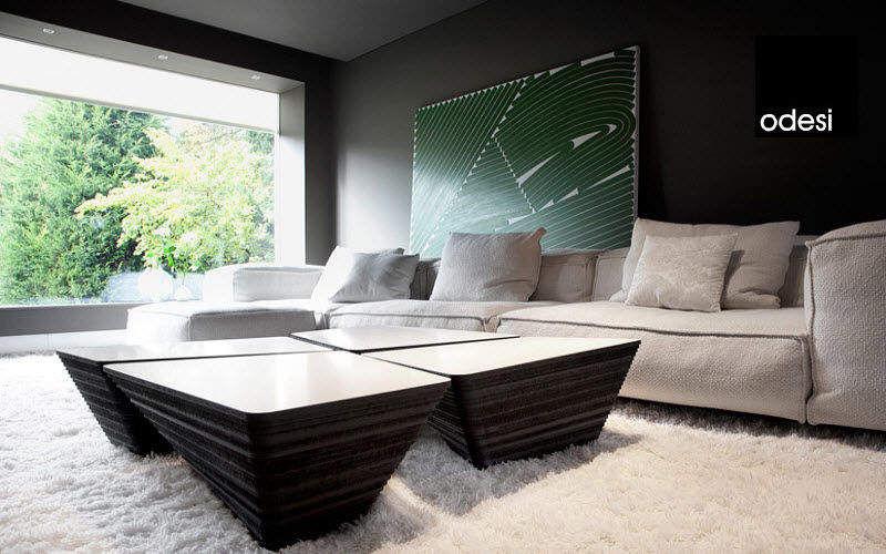 Odesi Table basse carrée Tables basses Tables & divers Salon-Bar | Design Contemporain