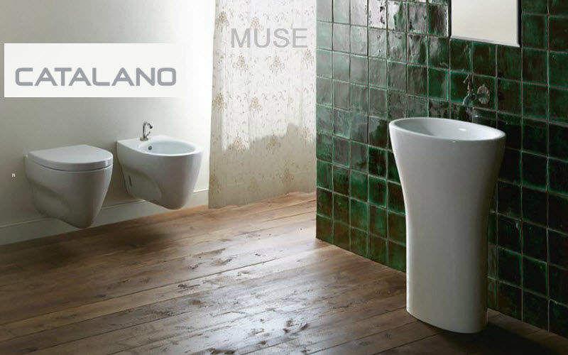 salle de bains contemporain - Colonne Vasque Salle De Bain
