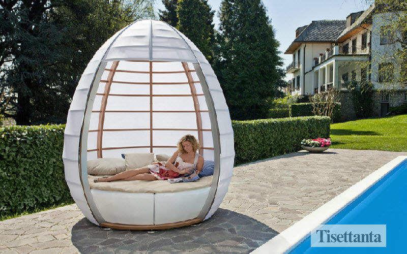 Tisettanta Lit d'extérieur Chaises longues Jardin Mobilier Terrasse | Design Contemporain
