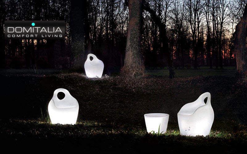 Domitalia Fauteuil de jardin lumineux Fauteuils d'extérieur Jardin Mobilier Terrasse |