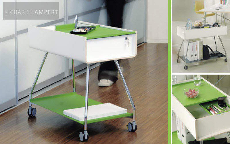 RICHARD LAMPERT Desserte mobile Chariots Tables roulantes Tables & divers  | Design Contemporain