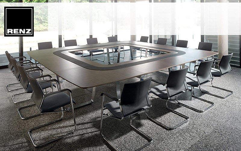 RENZ Table de réunion Bureaux et Tables Bureau Lieu de travail | Design Contemporain