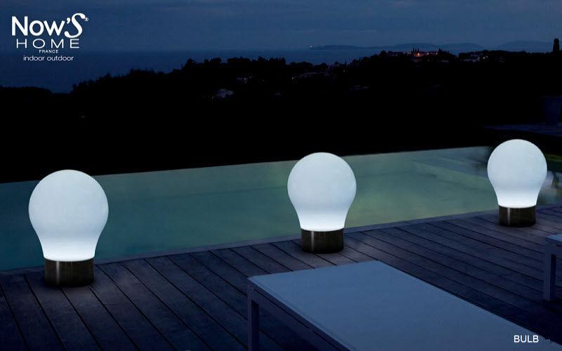 Now's Home Lampe de jardin à LED Luminaires de sol Luminaires Extérieur  |