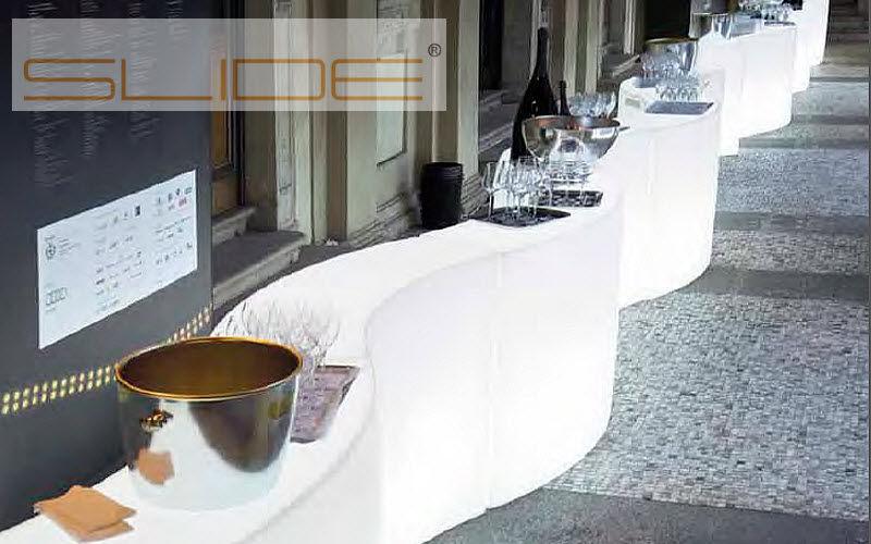 Slide Comptoir de bar lumineux Bars Tables & divers Salle à manger |