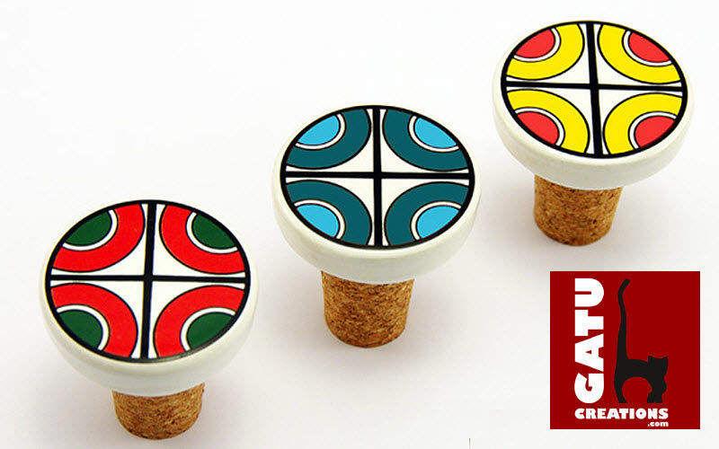 GATU CREATIONS Bouchon de bouteille Bouchons Accessoires de table  |