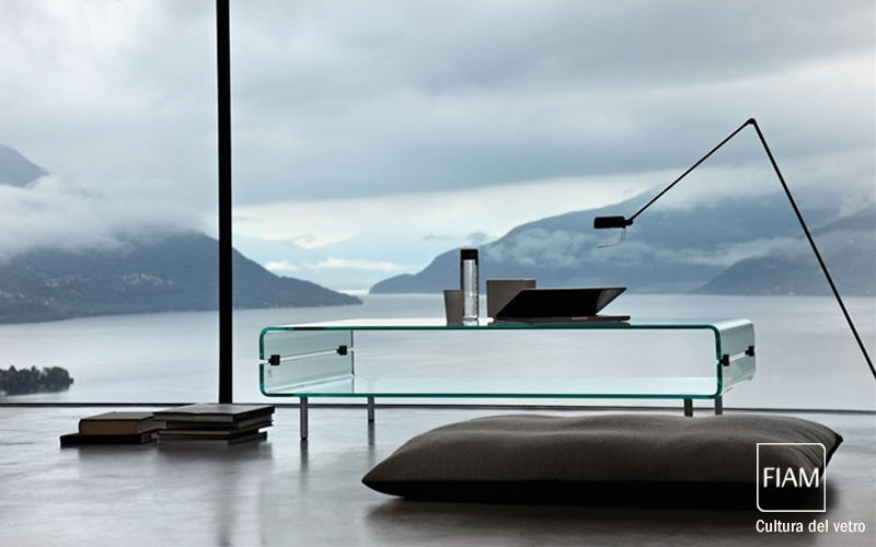 Fiam Table basse rectangulaire Tables basses Tables & divers Salon-Bar   Design Contemporain