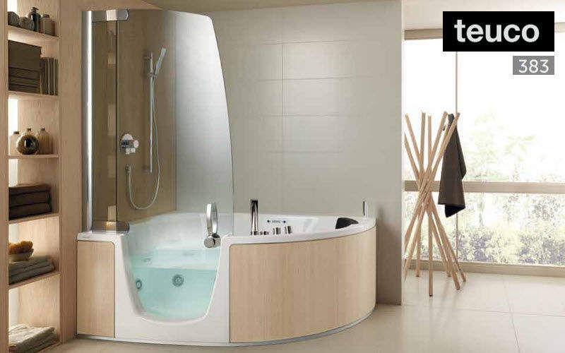 Baignoire douche baignoires decofinder - Transformer douche en baignoire ...