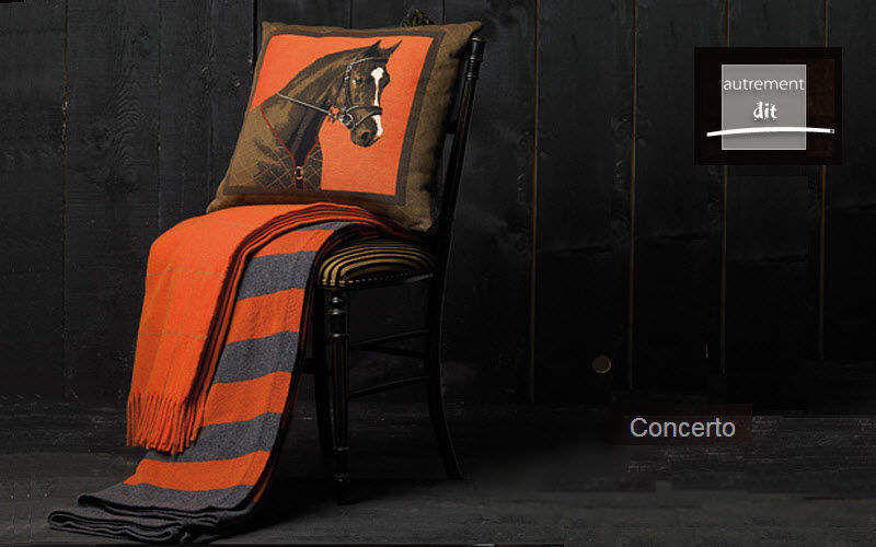 AUTREMENT DIT Plaid Couvre-lits Linge de Maison  | Classique