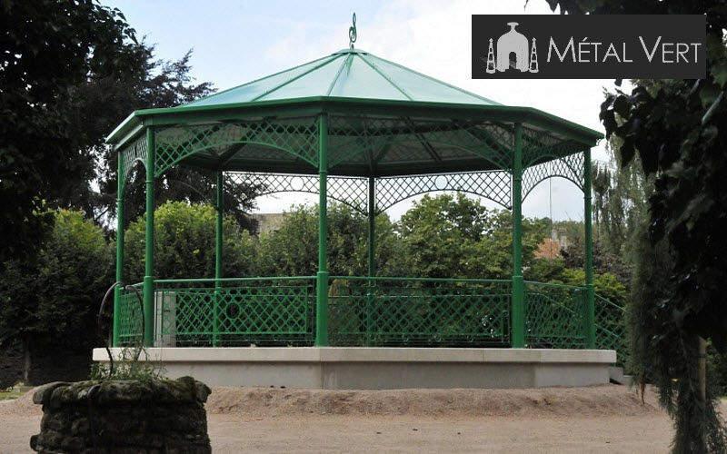 METAL VERT Kiosque Kiosques et gloriettes Jardin Abris Portails... Jardin-Piscine | Classique