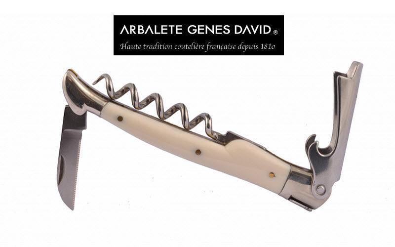 Arbalete Genes David Couteau sommelier Couteaux Coutellerie  |