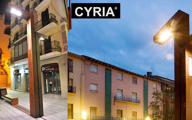 CYRIA Lampadaire urbain Réverbères lampadaires Luminaires Extérieur  |