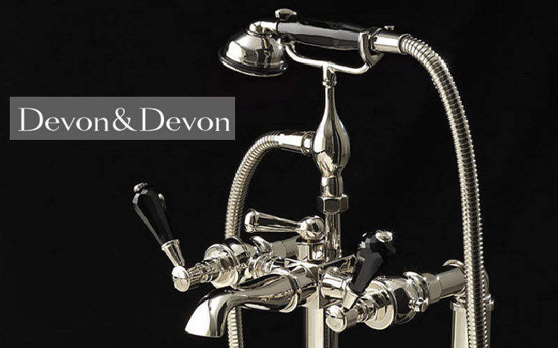 Devon & Devon Mélangeur bain 2 trous Robinetterie Bain Sanitaires Salle de bains | Classique