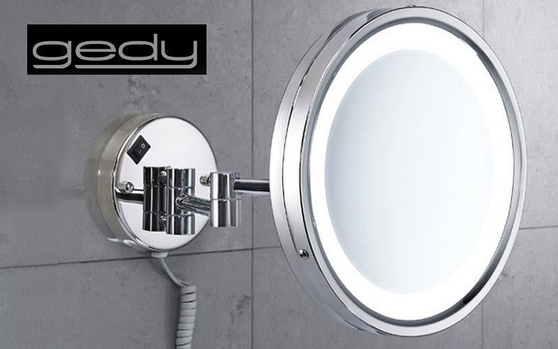 GEDY Miroir grossissant Miroirs de salle de bains Bain Sanitaires  |