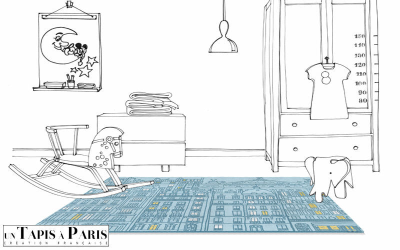 Un Tapis à Paris Tapis enfant Décoration enfant Enfant Chambre d'enfant | Design Contemporain