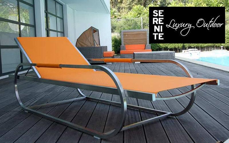 SERENITE LUXURY OUTDOOR Bain de soleil Chaises longues Jardin Mobilier   