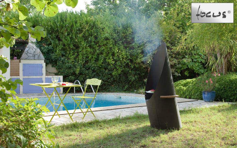 Focus Barbecue au charbon Barbecues Extérieur Divers  |