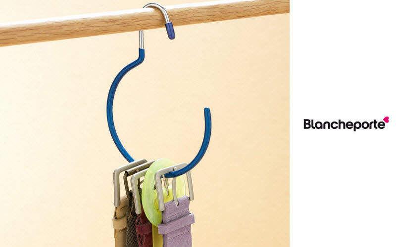 Blanche Porte Porte-ceintures Dressing accessoires Rangement Dressing  |