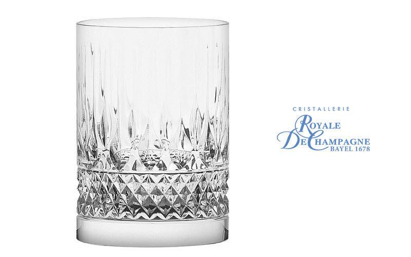 Cristallerie Royale De Champagne Verre à whisky Verres Verrerie  |