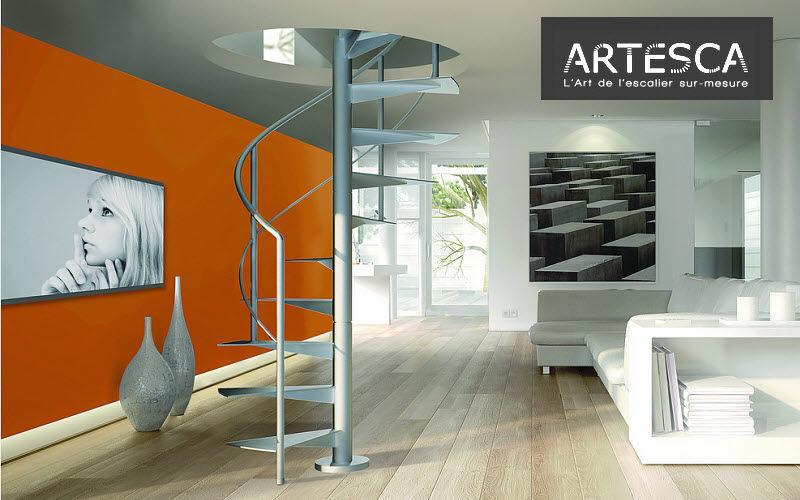 ARTESCA Escalier hélicoïdal Escaliers Echelles Equipement  |