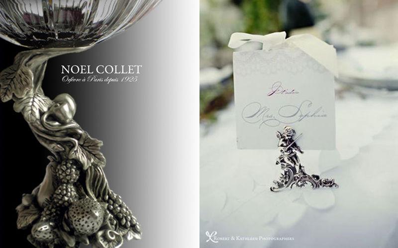 NOEL COLLET Orfèvre Marque-place Marques Accessoires de table  |