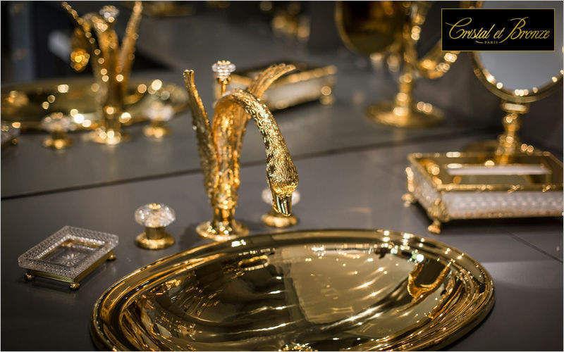Accessoires Sanitaires Cristal Et En Laiton – Chaios.com