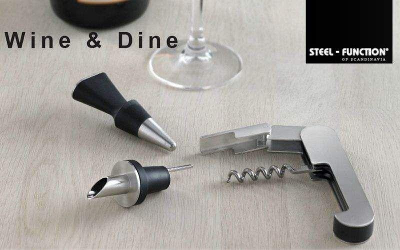 Steel Function of Scandinavia Tire-bouchon Autour du vin Accessoires de table  |