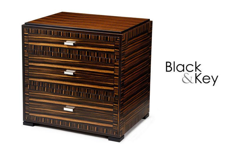 BLACK & KEY Commode Meubles à tiroirs Rangements  |
