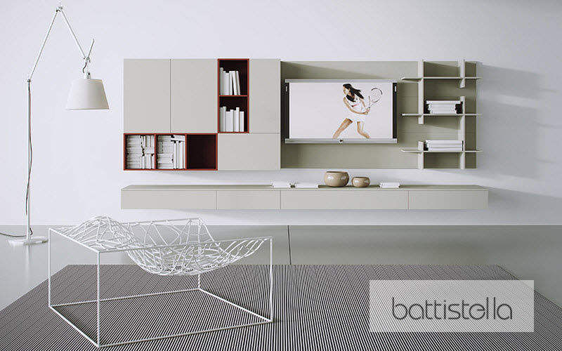 BATTISTELLA Combinaison murale living Bahuts Buffets Meubles de salon Rangements  |