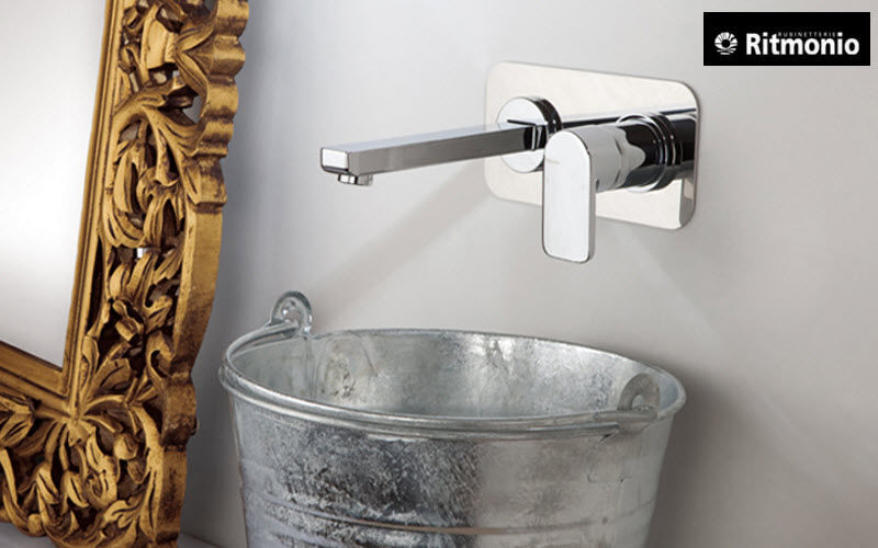 Ritmonio Mitigeur de lavabo mural Robinetterie Bain Sanitaires  |