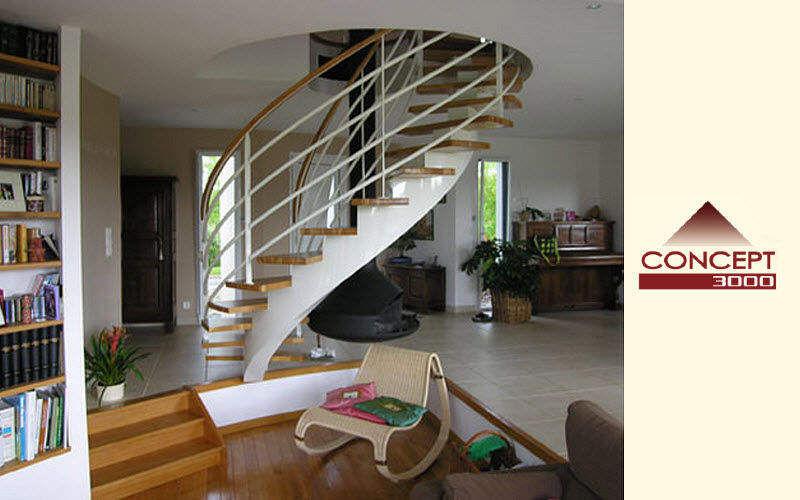 Concept 3000 Escalier hélicoïdal Escaliers Echelles Equipement  |