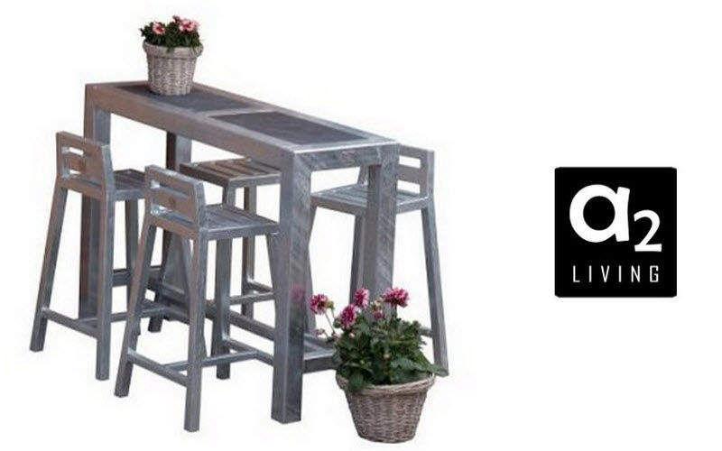 A2 LIVING Table de jardin Tables de jardin Jardin Mobilier  |