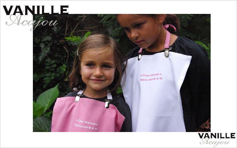 Vanille Acajou Serviette de table enfant Accessoires de table enfant Enfant  |