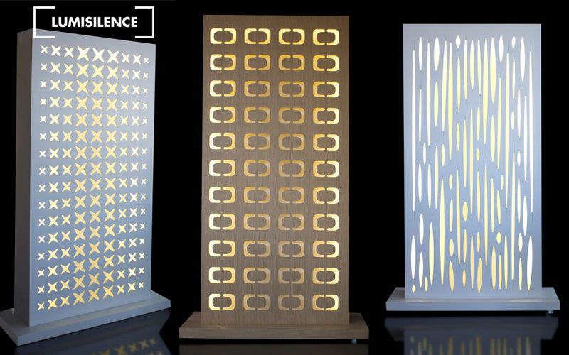 LUMISILENCE Cloison de séparation Cloisons & Panneaux acoustiques Murs & Plafonds  |