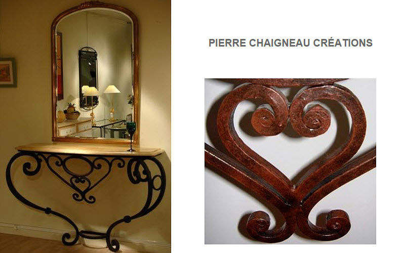 PIERRE CHAIGNEAU CREATIONS Console Consoles Tables & divers  |