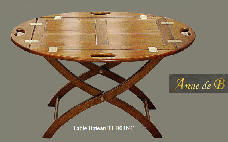 ANNE DE B Table basse ovale Tables basses Tables & divers  |