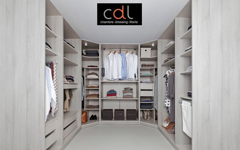 CDL Chambre-dressing-literie.com Dressing en U Dressings Rangement Dressing  |