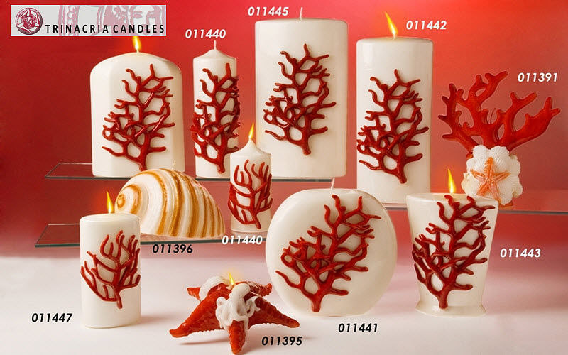 Trinacria Candles di Antonio Li Cavoli Bougie décorative Bougies Bougeoirs Objets décoratifs  |
