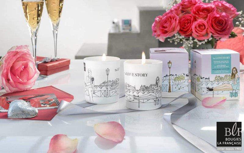 Bougies La Francaise Bougie parfumée Senteurs Fleurs et Senteurs  |