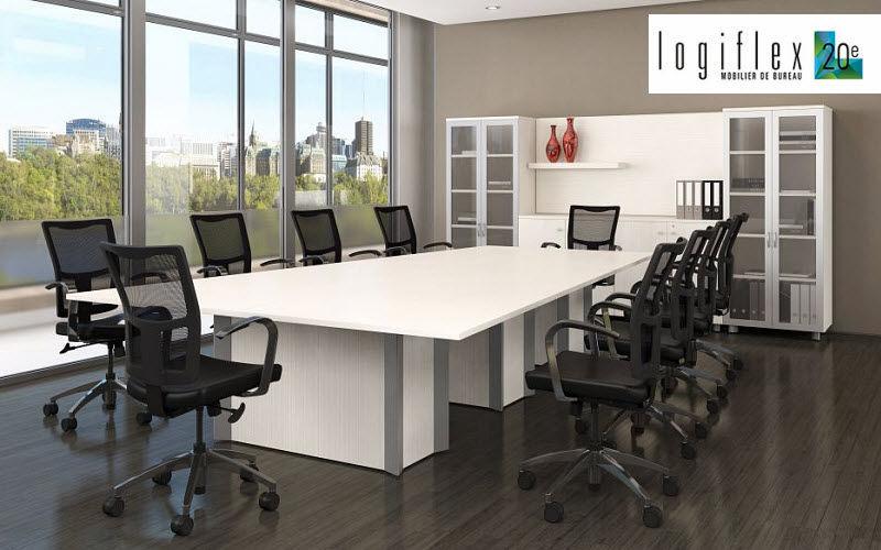 LOGIFLEX Table de réunion Bureaux et Tables Bureau  |