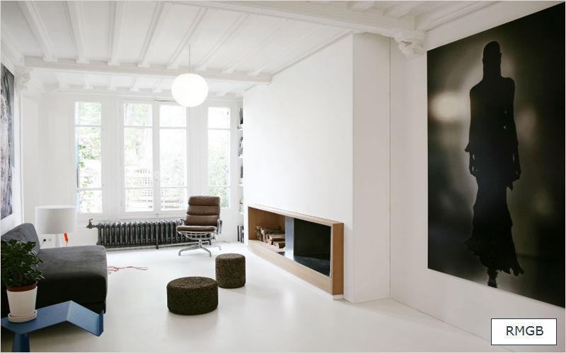 RMGB Réalisation d'architecte d'intérieur Réalisations d'architecte d'intérieur Maisons individuelles Salon-Bar | Design Contemporain