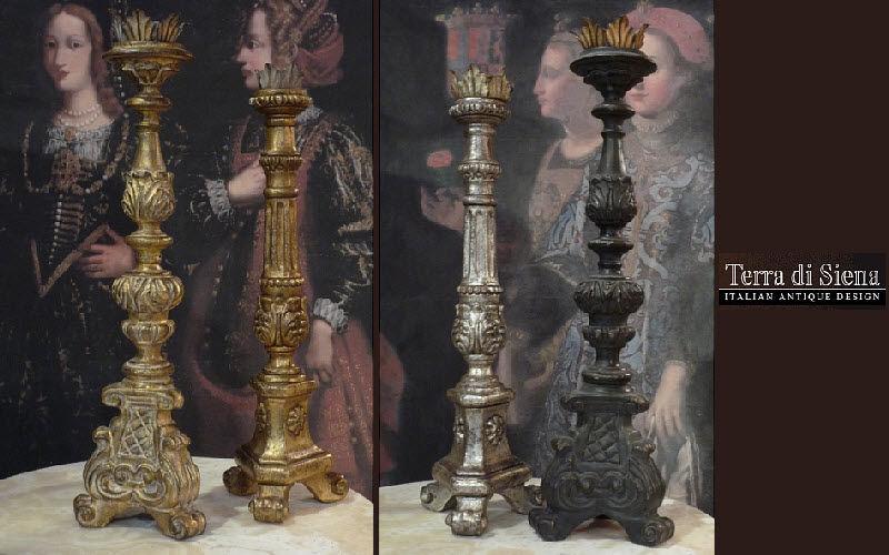 Terra Di Siena Torchère Bougies Bougeoirs Objets décoratifs  |
