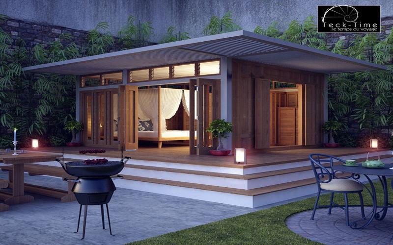 TECK TIME Maison en bois Maisons individuelles Maisons individuelles  |