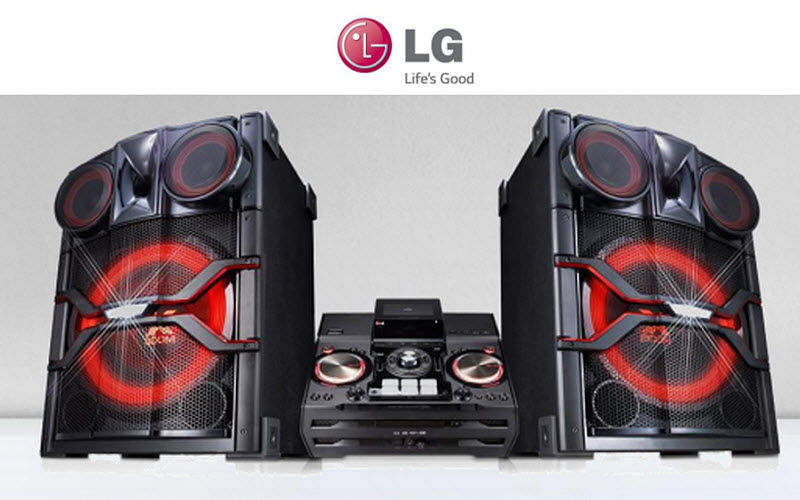 LG Electronics Mini-chaine Hifi & Son High-tech  |