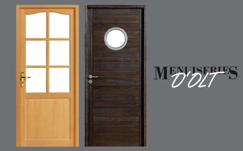 Menuiserie d'Olt Porte d'entrée vitrée Portes Portes et Fenêtres  |