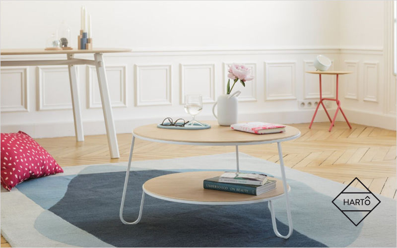 HARTÔ Table basse ronde Tables basses Tables & divers  |