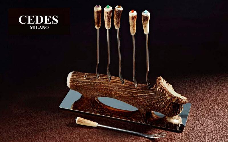 CEDES Fourchette à fondue Fourchettes Coutellerie  |